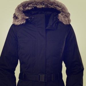 The North Face Hyvent goose down ski jacket